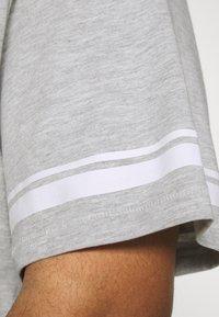 Only & Sons - ONSMATT LIFE LONGY STRIPE   - Print T-shirt - light grey melange - 3