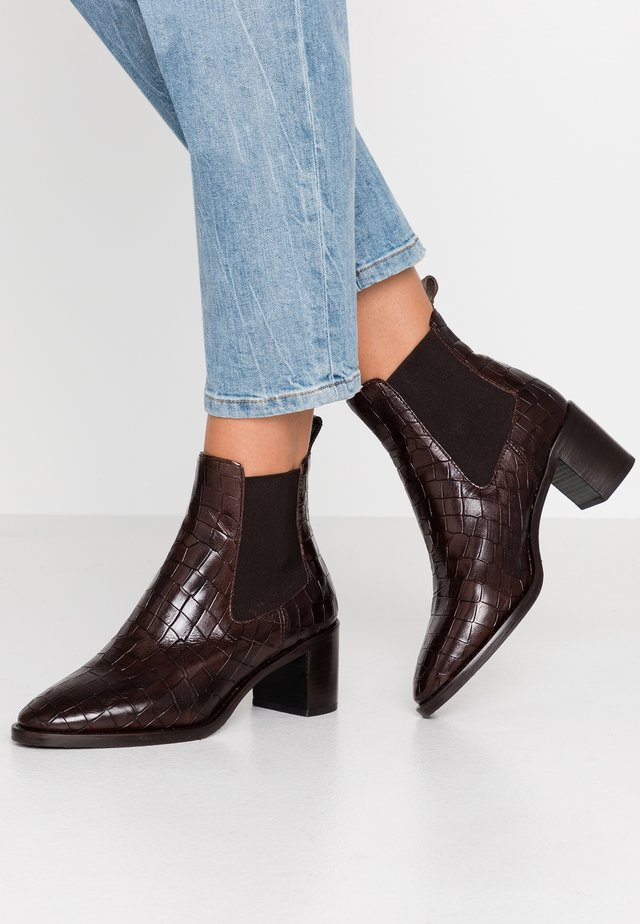 Ankle boots - espresso