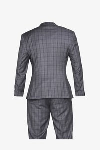 Isaac Dewhirst - CHECK SUIT PLUS - Costume - grey - 2