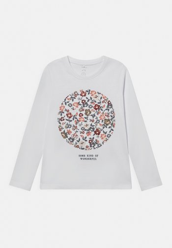 NKFNETLI LS  - Long sleeved top - bright white