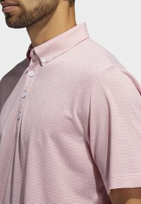 adidas Golf - ADIPURE OTTOMAN POLO SHIRT - Funktionsshirt - red - 3