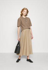 WEEKEND MaxMara - CABLO - A-line skirt - camel - 1