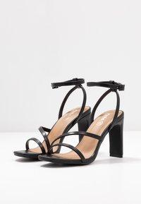 Rubi Shoes by Cotton On - LORINDA STRAPPY - Sandaler med høye hæler - black - 4