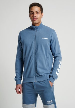 HMLISAM  - Zip-up hoodie - china blue