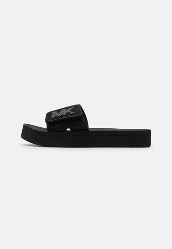 PLATFORM SLIDE - Sandaler - black