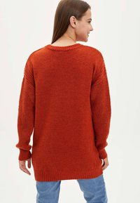 DeFacto - TUNIC - Long sleeved top - orange - 2