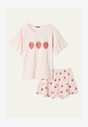 Pyjama set - sweet pink st fragole