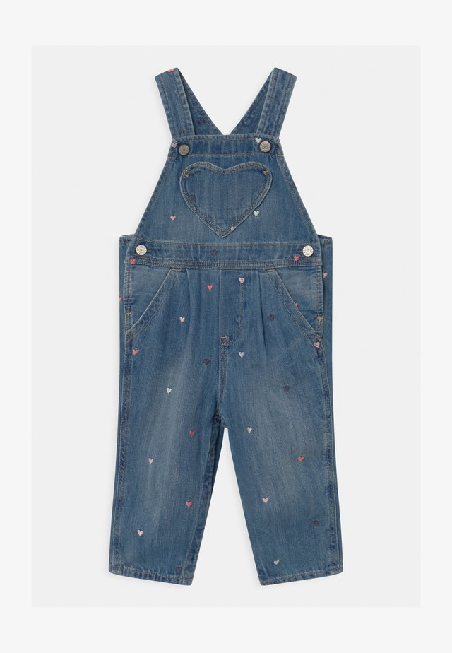Dungarees - light-blue denim