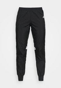 adidas Performance - TRACK PANT - Joggebukse - black/halo silver/white - 4