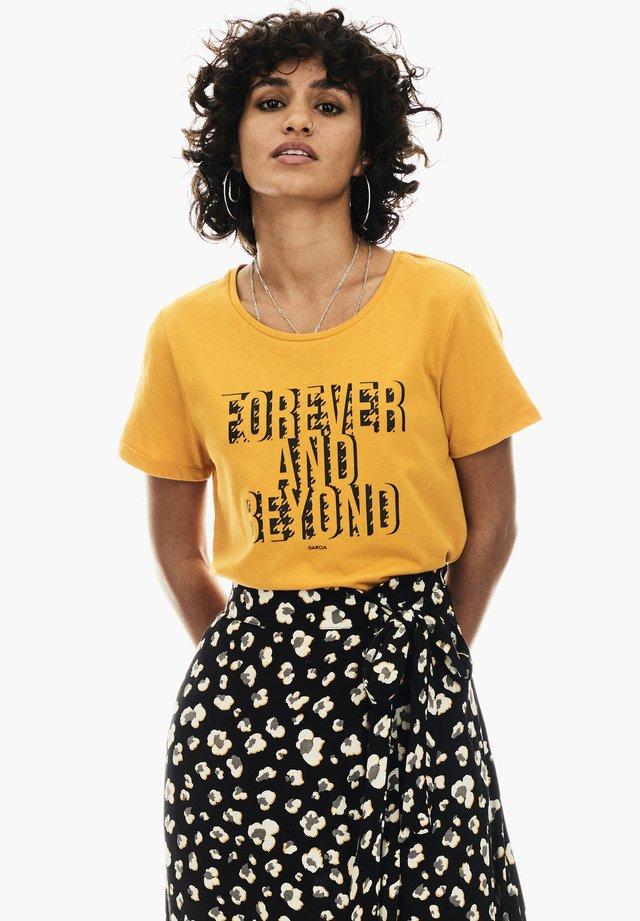 T-shirt imprimé - marigold