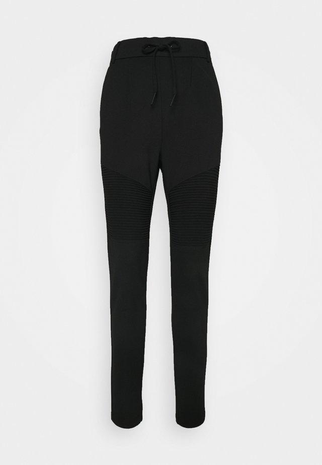ONLPOPTRASH EASY BIKER PANT - Teplákové kalhoty - black
