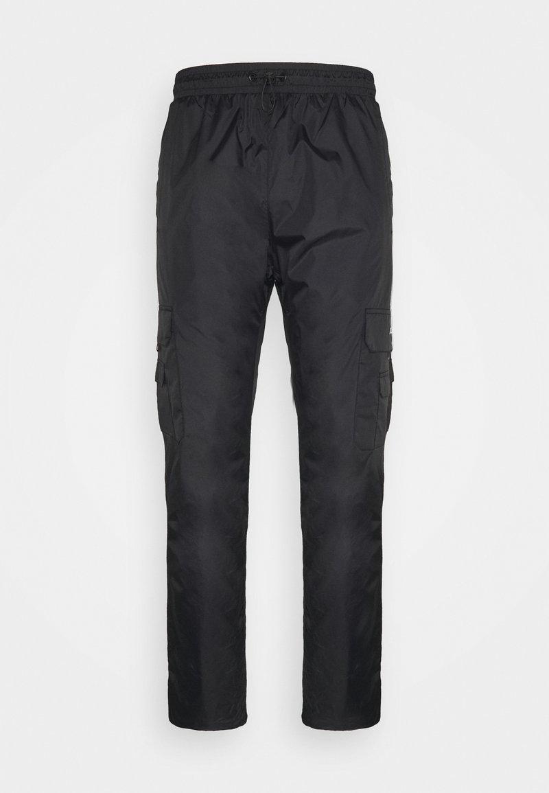 PARELLEX - Cargo trousers - black