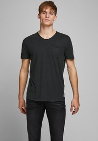 Jack & Jones PREMIUM - T-shirt - bas - black - 0