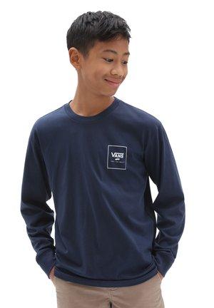 BY PRINT BOX BACK LS BOYS - Long sleeved top - drsbls/prmrycmonautclb/tw