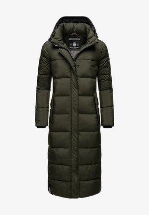 Winter coat - dark olive