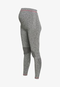 MAMALICIOUS - ACTIVE TIGHTS  - Leggings - Trousers - medium grey melange - 4