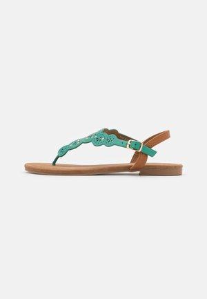 Sandály s odděleným palcem - turquoise