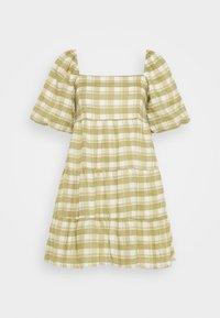 Faithfull the brand - LEILANI MINI DRESS - Denní šaty - ligne/olive - 5