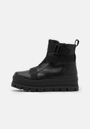 SID - Bottines à plateau - black