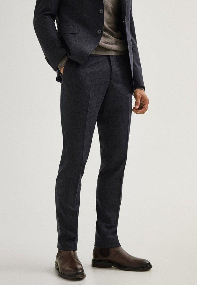 Spodnie garniturowe - blue