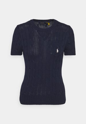 TEE SHORT SLEEVE  - Camiseta básica - hunter navy