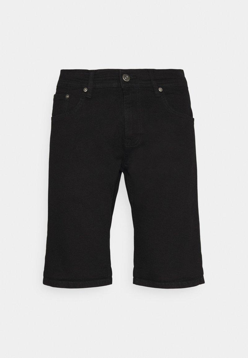 Shine Original - REGULAR FIT STRETCH - Jeansshorts - clean black