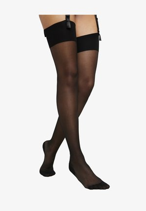 AMBER - Over-the-knee socks - black