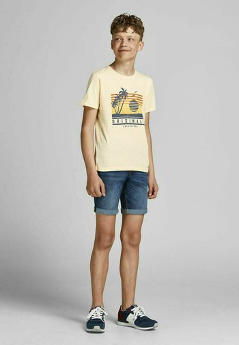 JORLAGUNA  - Print T-shirt - seedpearl