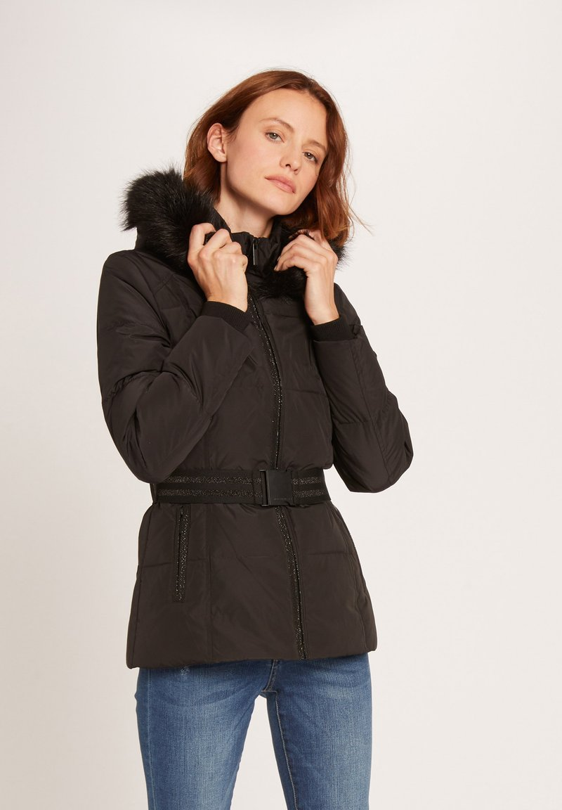 Morgan - Down jacket - black