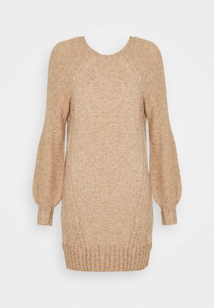 ONLSANDY DRESS - Jumper dress - pumice stone/melange