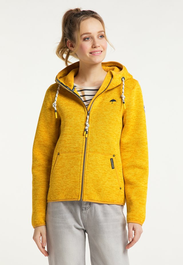 Giacca in pile - mustard yellow