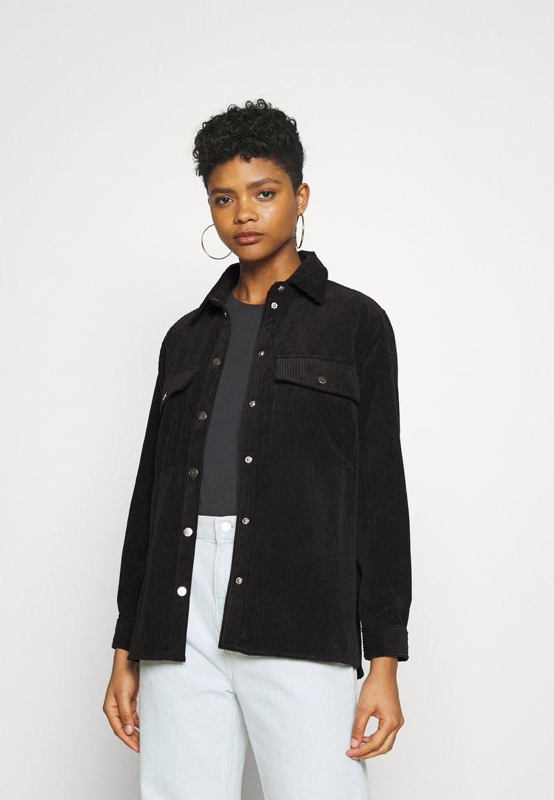 Gina Tricot - CORY - Button-down blouse - black