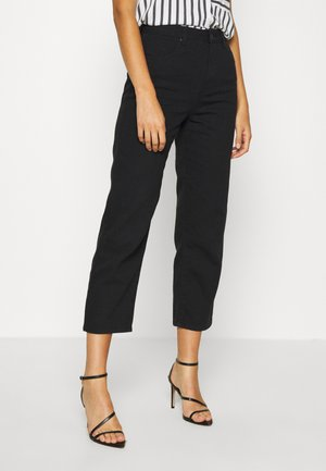 SHELBY - Straight leg jeans - black