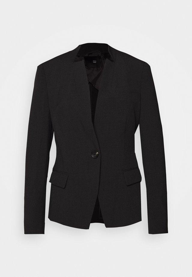 SAVIS LUXURY - Blazer - dark grey