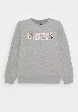 POWER UP CREWNECK  - Mikina - grey heather