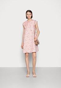 Love Copenhagen - FIOLS DRESS - Day dress - pink wallpaper - 1