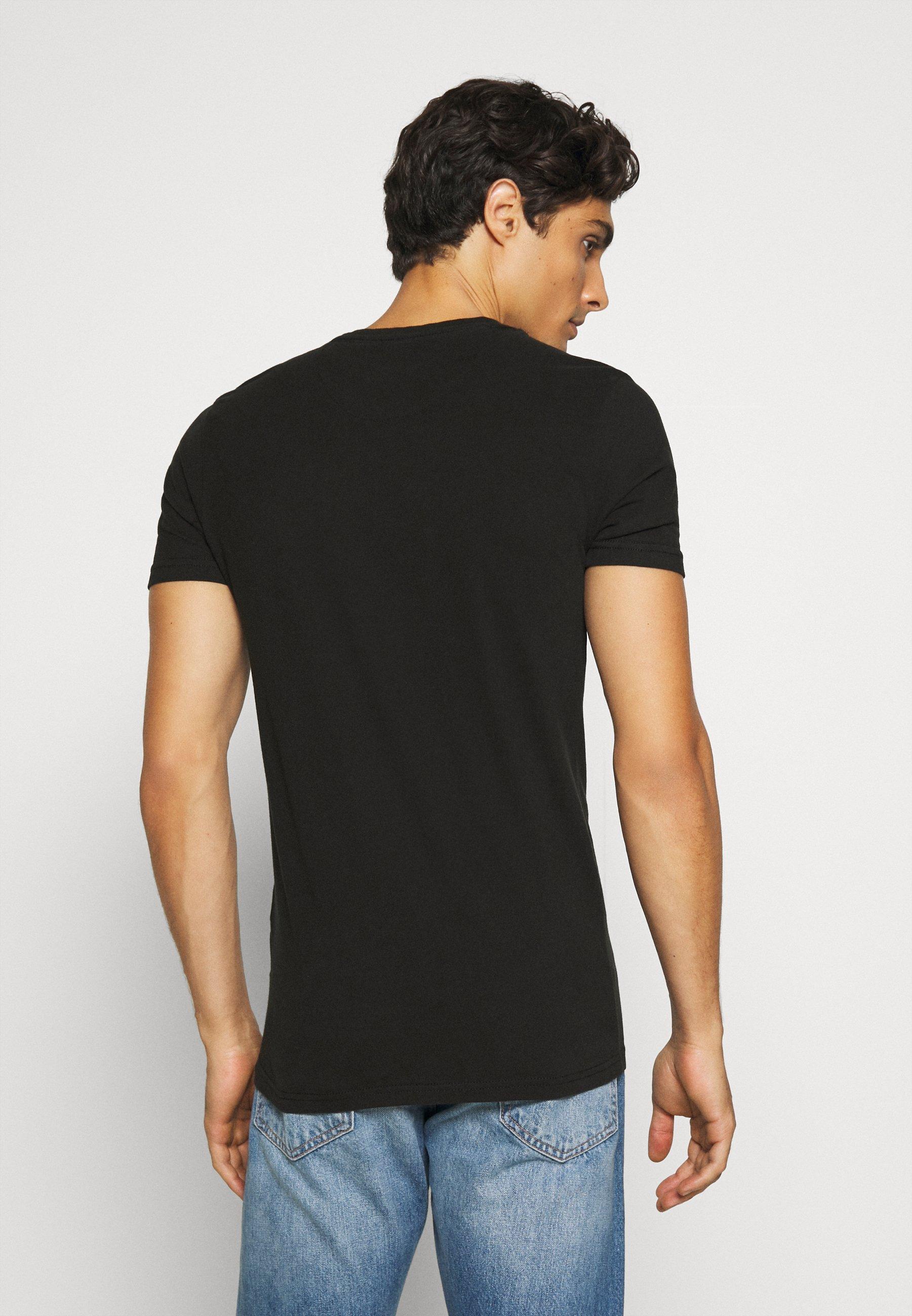 Petrol Industries Print T-shirt - black yea7C