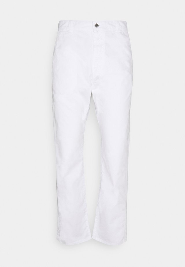 UNIVERSE PANT CROPPED - Kalhoty - white