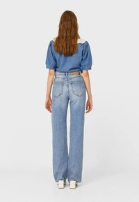 Stradivarius - Jeans Straight Leg - light blue - 2
