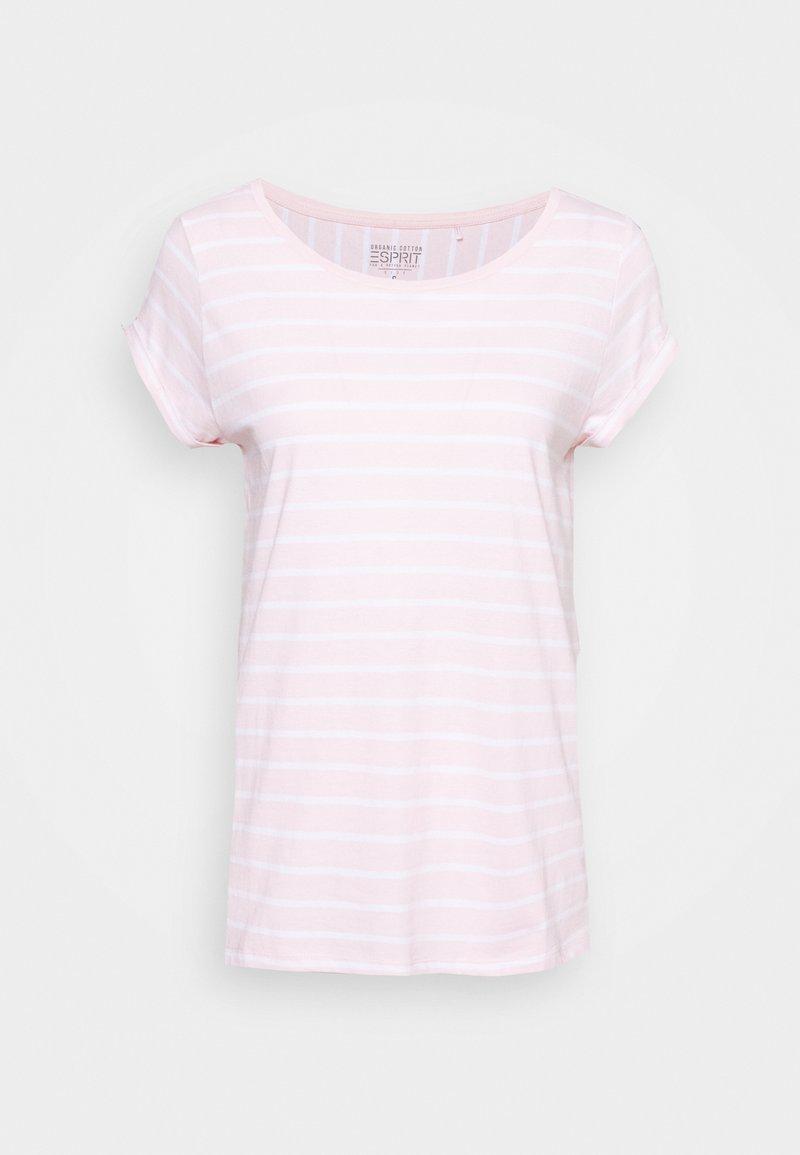 Esprit - TEE - Print T-shirt - light pink