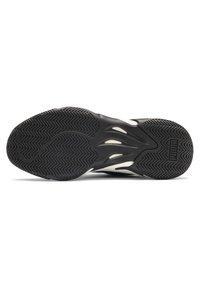 Puma - STORM STREET - Sneakers laag - black/plum purple - 5