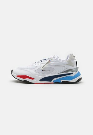 BMW MMS RS-FAST UNISEX - Zapatillas - white/marina/high risk red