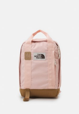 TOTE PACK UNISEX - Rucksack - light pink/brown/off white