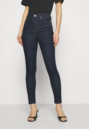 CARRIE  - Vaqueros pitillo - dark blue denim