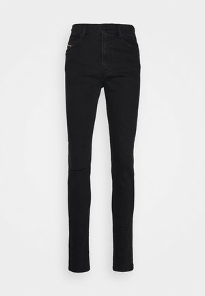 D-AMNY-Y - Skinny džíny - washed black