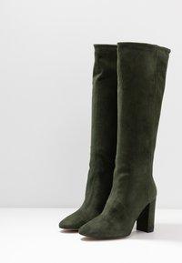 Bianca Di - High heeled boots - verde - 4
