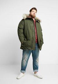 Calvin Klein - LONG PREMIUM - Winter coat - green - 1