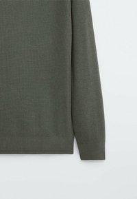 Massimo Dutti - Pullover - khaki - 6