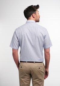 Eterna - MODERN FIT - Shirt - blau/weiß - 1