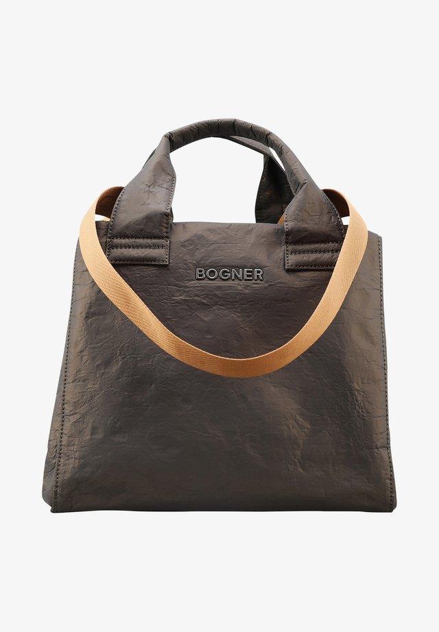 SERFAUS ZAHA - Shopping bag - khaki